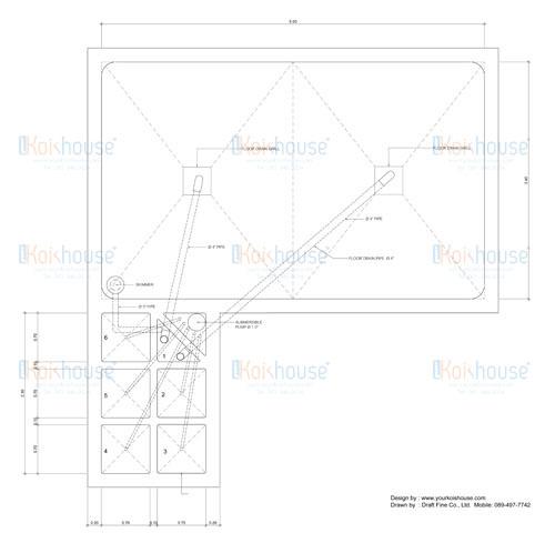 D:DFTH13-074 Koi's HouseKoi's House 314-01-10 Plan & Section